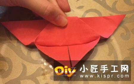 儿童折纸蝴蝶的教程 简单漂亮蝴蝶的折法图解