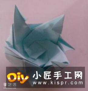 立体树苗的折法图解 折纸树苗的方法步骤图